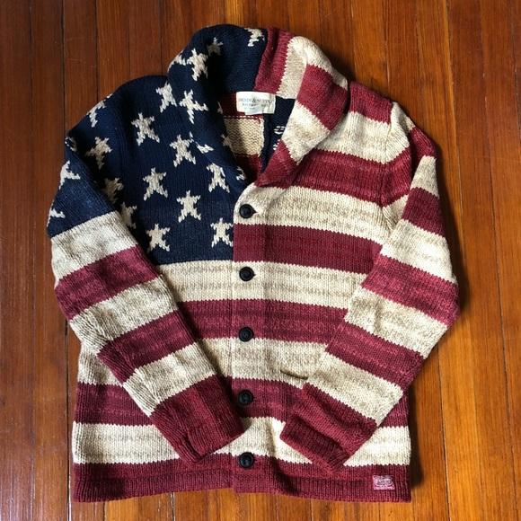 c3e6215bf Denim   Supply Ralph Lauren Other - Ralph Lauren Denim   Supply American  Flag Cardigan